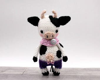 Crochet pattern : Judith the mini cow