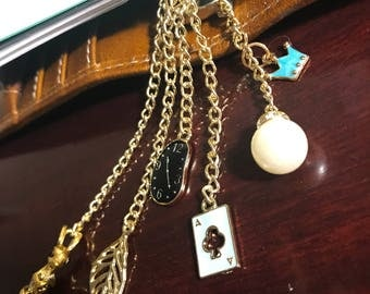 Purse Charm/Alice in Wonderland Collection/Charm/Keychain/Backpack Charm