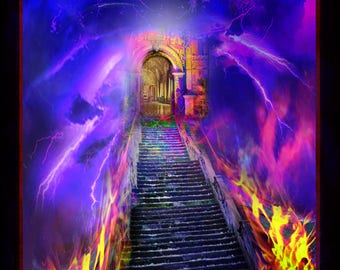 Throne room. . . / Church or Personal Banners for your Home or Office (G1217-1)