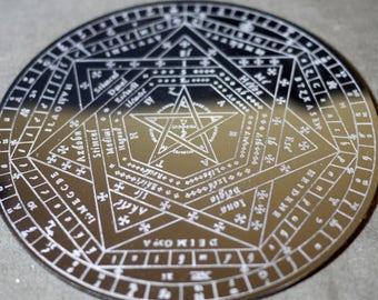 Sigillum Dei Aemeth   Enochian Magic   Enochian Magick   Seal of God   John Dee
