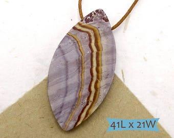 Sonoran Matte Rhyolite Gemstone Pendant—1 Pc. | SDRE-1