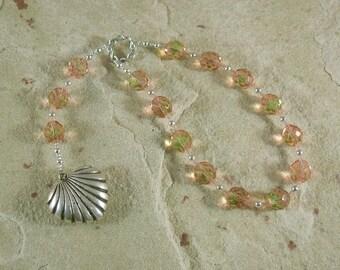 Venus Pocket Prayer Beads: Roman Goddess of Love, Beauty, Fertility and Gardens