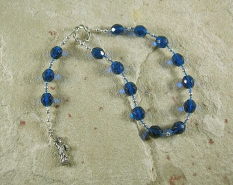 Libertas Pocket Prayer Beads: Roman Goddess of Freedom and Liberty
