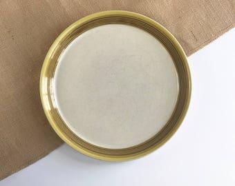 Vintage Mikasa Potter's Art Ben Sonora Dinner Plate, Discontinued Mikasa Sonora Dinner Plate by Ben Seibel PF015