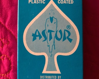 Vintage Astor New in cellophane playing Cards