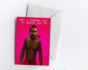 Idris, Chocolate, Rose | Valentine's Card