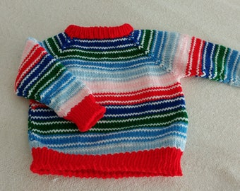 """Halloween """"Chucky"""" the Doll Sweater for Toddlers"""