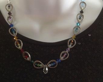 Kaleidoscope Necklace Set