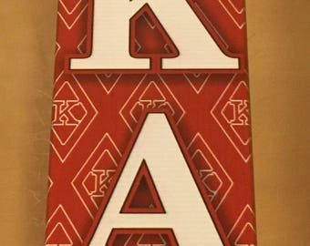 Kappa Alpha Psi -Printed Paddle 22""