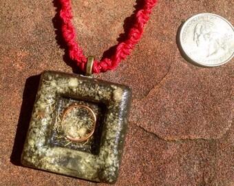 "The ""Diamond"" Orgone Pendant"