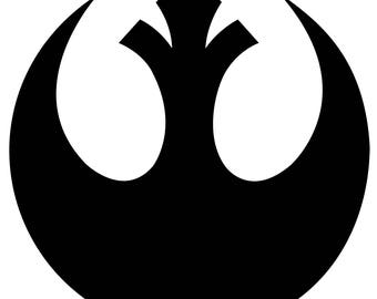 Star Wars Rebel Alliance Vinyl Decal Sticker
