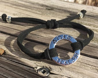 2018 Mutual Theme Bracelet For LDS Young Women or Young Men. D&C 19:23. Peace in Me. Youth Conference. Jewelry for young men and women