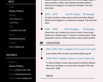 microsoft template resume