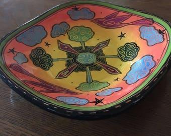 Terri Kern Pottery Dish
