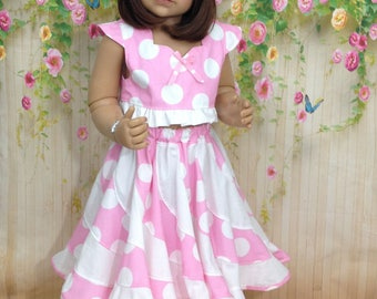 Girls outfit, twirl swirl- size 2- Ready to ship