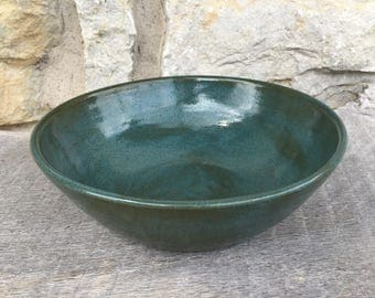 Pottery Soup or Cereal Bowl, handmade pottery  bowl