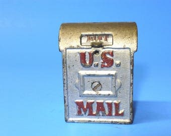 "Cast Iron Bank ""U.S. Mail""  A. C. Williams 1912-1931"
