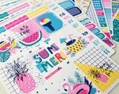 Summer Vibes | A la Carte | Planner stickers for Erin Condren/ Happy Planner/ A5/ Personal etc Planners