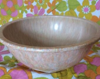 Texas Ware Pink Confetti Bowl