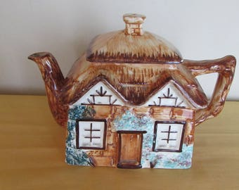 Keele Street Pottery England 3 Cup Teapot Cottage Ware