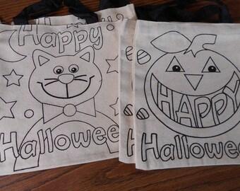 Children's Halloween Bag Craft Kit
