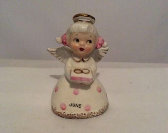 Vintage Norcrest June Angel Bell