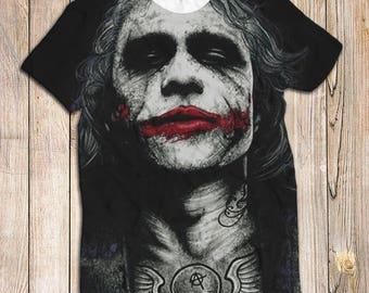 Joker 3D T Shirt Made In UK Fast Shipping