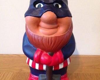 Custom Captain America Gnome