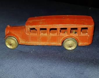 Rare Tootsietoy No.4651 Fageol Bus 1927-1933