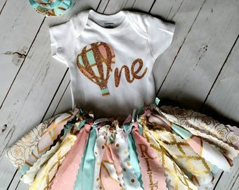 1st Birthday Hot Air Balloon Outfit