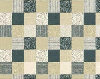 Catnip- Patchwork- Natural- Gingiber- Moda Fabrics