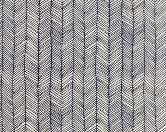 Catnip- Kitten Lines- Natural- Gingiber- Moda Fabrics