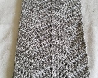 Beautiful Winter Scarf Hand Crocheted in Salem, Massachusetts
