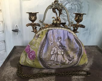 Bag, ironing bag, dirndl, vintage, shabby, romance