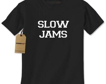 Slow Jams Mens T-shirt