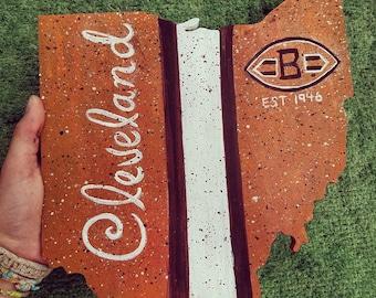 Cleveland Browns Ohio art