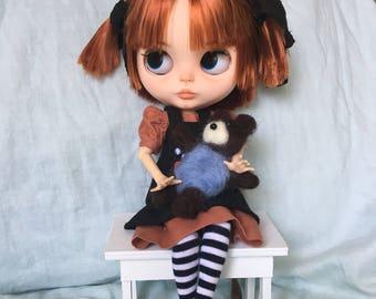 SOLD!! OOAK Custom Blythe Art Doll