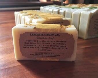 Calendula Flower Soap