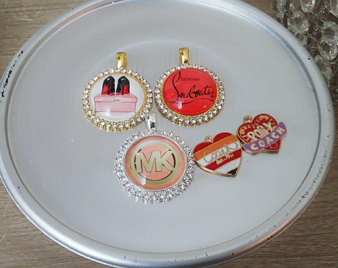 Pendant and Charm 5 Piece Set