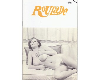 Roulade Magazine - 1960's Scandinavian Nudie Digest - All Nude Girls - No Text - Slick Pages - Vintage Erotica!