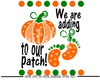 Pregnancy Pumpkin svg / dxf / eps / png files. Digital download. Compatible with Cricut and Silhouette machines.