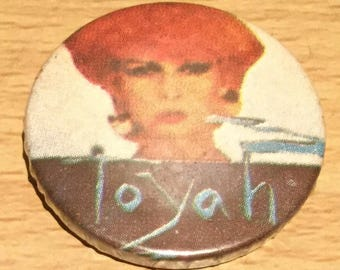 Toyah Vintage Badge