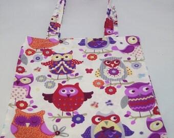 Grocery bag, Tote Bag owls