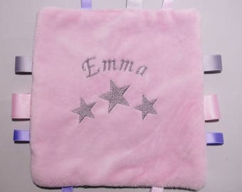 Personalized name Emma, soft blanket.