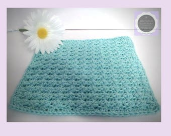 Easy CROCHET PATTERN,  Washcloth Pattern, Summer Days Washcloth Pattern, Instant Download PDF English Only