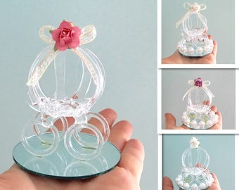 Sale* Adorable Cinderella Carriage Favor, Wedding, Sweet 16, Baby Shower  Party Favor