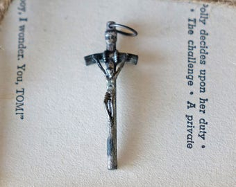 Vintage Cross Pendant - Made in Italy