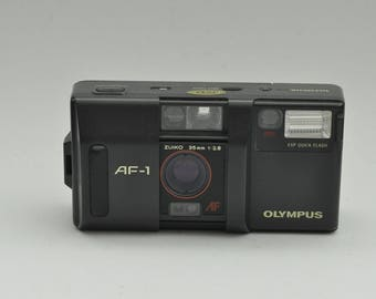 Classic Olympus AF-1 Point and Shoot Camera