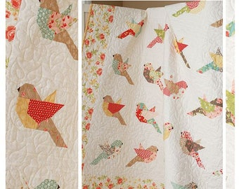 FEATHERS Quilt Pattern from The Pattern Basket by Margot Langeudoc Designs  TPB 1705
