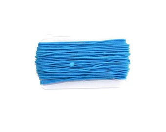 8.30 m nylon elastic 1 mm blue